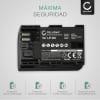 Bateria para camaras Canon EOS 5D Mark II III IV EOS 5DS R EOS 60D 60Da EOS 6D Mark II EOS 70D EOS 7D Mark II EOS 80D - LP-E6 LP-E6N 2000mAh Batería de repuesto