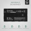 Akku für Sony HXR-MC2500 HXR-NX100 -NX5 HDR-FX1 -FX7 -FX1000 DSR-PD150 -PD170 NEX-FS700r HVR-Z1 DCR-VX2000 - NP-F970 -F96 NP-F550 -F570 -F750 -F770 -F330 4400mAh Ersatzakku Batterie