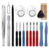 Akku für Samsung Galaxy S6 Edge Handy / Smartphone - Ersatzakku EB-BG925ABE, GH43-04420A 2600mAh + Werkzeug-Set, Neuer Handyakku