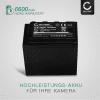 Kamera Akku für Panasonic AG-AC8 AG-AC8EJ AJ-PX270 AJ-PX298 HC-MDH2 HC-X1000 - VW-VBD29 VW-VBD58 VW-VBD78 CGA-D54 AG-VBR59 Ersatzakku 6600mAh , Batterie