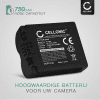 Batterij voor Panasonic DMC-FZ50 FZ50 DMC-FZ7 DMC-FZ8 DMC-FZ18 DMC-FZ28 DMC-FZ30 / V-LUX 1 camera - CGR-S006e CGA-S006a DMW-BMA7 BP-DC5 750mAh Vervangende Accu voor fototoestel