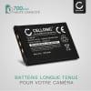 Batterie pour appareil photo Casio Exilim EX-Z75 -Z3 -Z4 -Z5 -Z6 -Z7 -Z11 -Z12 -Z15 -Z18 -Z60 -Z65 -Z70 -Z77 EX-S770 -S1 -S100 -S2 -S3 -S500 -S600 -S880 EX-M2 - NP-20 NP-20DBA 700mAh NP20 NP 20 Batterie Remplacement