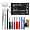 Batterie pour téléphone portableMotorola G3 / 3. Gen - FC40, SNN5965A, 2300mAh interne neuve + Set de micro vissage, kit de remplacement / rechange