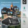 2x Kamera Akku für Pentax KP K-50 K-30 K-S1 K-r K-500 K-S2 - D-Li109 Ersatzakku 1100mAh D-Li109, Batterie