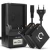 2x Batterie pour appareil photo Panasonic Lumix DMC-LX100 DMC-GX80 DMC-TZ80 -TZ81 -TZ101 DC-TZ90 DC-GX9 D-LUX 7 Typ 109 - DMW-BLE9 DMW-BLG10 Leica BP-DC15 1050mAh + Chargeur DE-A98A DE-A99B Batterie Remplacement