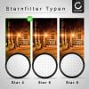 Sternfilter für Ø 62mm (4 Point) Gitterfilter, Kreuzfilter