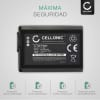 Bateria para camaras Sony Alpha 6000 A6000 A6300 A5000 A5100 A3000, A7 II A7S II A7R II, NEX-3 NEX-5 NEX-5N NEX-6 NEX-7, NEX-F3 - NP-FW50 1050mAh Batería de repuesto