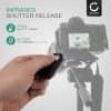 CELLONIC® ML-L3 Infrapuna kaukolaukaisin varten Nikon D3400 D3000 D3300 D5100 D5200 D5300 D610 D7000 D7100 D7500 D90