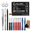 Batterie pour téléphone portableLG / Google Nexus 5X (H791) - BL-T19, 2600mAh interne neuve + Set de micro vissage, kit de remplacement / rechange