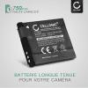 Batterie pour Canon PowerShot A2200, PowerShot A3000 IS, 3100 IS, 3150 IS, 3200 IS, 3300 IS, 3350 IS - NB-8L (700mAh) Batterie de remplacement