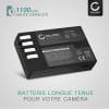 2x Batterie pour appareil photo Pentax KP K-50 K-30 K-S1 K-r K-500 K-S2 - D-Li109 1100mAh D-Li109 Batterie Remplacement