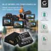Batterij voor Panasonic Lumix DMC-TZ5 DMC-TZ5 DMC-TZ3 DMC-TZ1 DMC-TZ4 DMC-TZ2 camera - CGA-S007,CGR-S007,DMW-BCD10 900mAh Vervangende Accu voor fototoestel