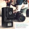 2x Kamera Akku für JVC GY-HM100 GS-TD1 GZ-MG120 -MG130 -MG275 -MG330 -MG340 -MG465 - BN-VF808 BN-VF815 BN-VF823 BN-VF915 Ersatzakku 1600mAh + Ladegerät , Batterie