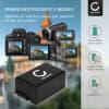 Batteria CELLONIC® DMW-BMB9E per Panasonic Lumix DMC-FZ72 DMC-FZ70, DMC-FZ100 DMC-FZ150, DMC-FZ45 DMC-FZ40 DMC-FZ47 DMC-FZ48, DMC-FZ62 DMC-FZ60 Affidabile ricambio da 800mAh sostituzione