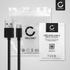 Câble USB pour JBL Charge 4, Flip 5, LIVE 300TWS, TUNE 220TWS - 1m Fil charge data 3A noir cordon PVC