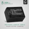 2x Batterie pour appareil photo Canon LEGRIA HF R806 R86 HF R706 HF R606 HF R506 HF R406 HF R306 R36 VIXIA HF R500 HF R52 R50 HF R400 R40 HF R300 HF M500 - BP-718 BP-727 1600mAh Batterie Remplacement