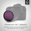 Filtre Fluorescence FLD pour Zeiss Batis 1.8/85 Batis 2/25 Distagon T 2/25 Planar T 2,0/100 Planar T 2/50 (Ø 67mm) Filtre FD