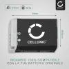 Batteria CELLONIC® NB-13L per Canon PowerShot G7 X Mark II G1x Mark III G5 X G9 X Mark II PowerShot SX740 HS SX 620 HS SX720 HS SX730 HS Affidabile ricambio da 1050mAh sostituzione