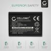 Batteri for Canon EOS 1100D EOS 1200D, EOS Rebel T3 EOS Rebel T5, EOS Kiss X50 X70 X80 - LP-E10 (1020mAh) reservebatteri