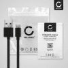 USB Cable for Logitech Harmony Elite / Harmony 950 - Charging Cable 1m Data Cord 2A Black PVC Wire Lead