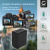 NP-FV100 -FV30 -FV70 Battery for Sony HDR-CX625, HDR-CX730 -CX700, HDR-CX570 -CX550, HDR-CX410, HDR-CX330e, HDR-CX280, FDR-AX53 -AX33, HDR-PJ810 -PJ650, NEX-VG900 -VG30, HDR-XR550, DCR-SX34 -SX33, DEV-50V 3300mAh Digital Camera Battery Replacement Spare Battery Backup Power Pack