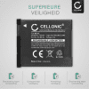 Batterij voor Canon PowerShot A2200, PowerShot A3000 IS, 3100 IS, 3150 IS, 3200 IS, 3300 IS, 3350 IS - NB-8L (700mAh) vervangende accu