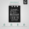 LI-10B,LI-12B Battery for Olympus C-770 C-765 Ultra Zoom C-760 C-50 Zoom C-60 C-70 C-5000 C-7000 FE-200 Stylus 300 Mju 400 300 IR-500 Micro 600 X-500 D-590 1100mAh Digital Camera Battery Replacement Spare Battery Backup Power Pack