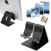 Tablet stand made of aluminium for tablets till 10