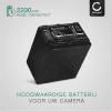 Batterij voor Sony FDR-AX100 -AX100e, FDR-AX33, FDR-AX53, Sony HDR-CX625, HDR-CX450, -CX115 HDR-CX200 -CX220, -CX305, HDR-PJ810, HDR-PJ530e, Sony NEX-VG900, -VG20, Sony DCR-SX34 camera - NP-FV90 2200mAh NP-FV90 Vervangende Accu voor fototoestel