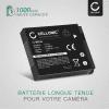 Batterie pour appareil photo Canon PowerShot SX710 HS SX700 HS, SX500 IS SX510 HS SX530 HS SX540, SX600 HS SX610 HS, SX260 HS SX240 HS, SX170 IS, S95 S120, PowerShot D20 D1, IXUS 105, Digital IXUS 95 IS - NB-6L,NB-6LH 1000mAh Batterie Remplacement