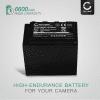 Kamera Akku für Panasonic AG-AC8 AG-AC8EJ AJ-PX270 AJ-PX298 HC-MDH2 HC-X1000 - VW-VBD29 VW-VBD58 VW-VBD78 CGA-D54 Ersatzakku 6600mAh , Batterie