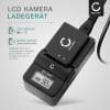 Ladegerät VW-AD11E,VSK0651B für Panasonic CGA-DU06,-DU21,VW-VBD210,-VBD070 (Panasonic NV-GS120, -GS17, -GS180, NV-GS230, -GS27, NV-GS500, NV-GS60, VDR-D150, -D160, SDR-H250) Ladekabel Netzteil
