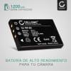 Batería para Easypix DTX5500 DV5011 DV5311 HD DVX5270 HD DVX5530 (1200mAh) NP-60