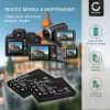 2x Batterie pour appareil photo Toshiba Camileo P10 P30 Camileo H20 HD H10 Camileo S10 Camileo Pro HD PDR-T20 PDR-T30 - NP-60 PDR-BT3 PX1425E-1BRS 1200mAh Batterie Remplacement