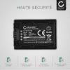 Batterie pour appareil photo Sony HDR-CX625, HDR-CX730 -CX700, HDR-CX570 -CX550, HDR-CX410, HDR-CX330e, HDR-CX280, FDR-AX53 -AX33, HDR-PJ810 -PJ650, NEX-VG900 -VG30, HDR-XR550, DCR-SX34 -SX33, DEV-50V - NP-FV100 -FV30 -FV70 3300mAh NP-FV100 Batterie Remplacement