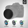 Neutraldichte Filter ND2000 für Ø 77mm Graufilter, Langzeitbelichtung