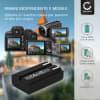 Batteria CELLONIC® EN-EL1,NP-800 per Nikon Coolpix 4300 Coolpix 4500 Coolpix 4800 Coolpix 5000 Coolpix 5400, Konica Minolta DiMAGE A200 Affidabile ricambio da 750mAh sostituzione