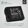 Batterie pour appareil photo Leica V-LUX 1 Lumix DMC-FZ8 DMC-FZ7 DMC-FZ18 DMC-FZ28 Lumix DMC-FZ30 DMC-FZ35 DMC-FZ38 DMC-FZ50 - CGR-S006e CGA-S006a DMW-BMA7 BP-DC5 750mAh Batterie Remplacement