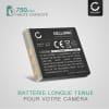 Batterie pour appareil photo Praktica DCZ 10.3 / DV-HD12 / DX-1 / iR16 / Luxmedia 10-23 / 12-03 / 12-HD / 6105 / 6403 - NP-40 750mAh NP-40,LB-5030 Batterie Remplacement