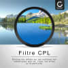Filtre Polarisant CPL pour Ø 95mm Filtre Polarisation circulaire