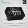 BP-DC9 Battery for Leica V-LUX 2 V-LUX 3 800mAh Digital Camera Battery Replacement Spare Battery Backup Power Pack