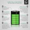 Batteria per Samsung WB35F, DV150F, WB50F, ST30, ST70, WB30F, ST150F, ST72, ES65, MV800 - BP70A, AD43-00194A (700mAh) batteria di ricambio