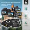 2x Batterie pour appareil photo Ricoh GR Digital II IV GX200 GX100 R5 R4 R3 GR Digital I R30 R40 G600 - DB-60 DB-65 1150mAh Batterie Remplacement