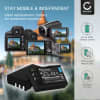 2x Batterie pour appareil photo Nikon D3000 D5000 D60 D40 D40x - EN-EL9 1000mAh EN-EL9e, EN-EL9a, ENEL9a, EN EL9e Batterie Remplacement