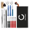 Batterie pour téléphone portableSamsung Galaxy S8 Plus (SM-G955) - EB-BG955ABE, EB-BG955ABA, 3500mAh interne neuve + Set de micro vissage, kit de remplacement / rechange