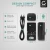 Chargeur de batterie VAR-L50 pour appareil photo DB-L50 DB-L50A (Sanyo Xacti VPC-FH1 Xacti VPC-HD1000 VPC-HD1010 VPC-HD2000 -HD2000A Xacti VPC-TH1 Xacti VPC-WH1)