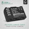 2x Batterie pour appareil photo Panasonic GH5 Lumix DC-GH5s DMC-GH4 GH4 GH4r GH4h GH3 GH3h GH3a G9 DC-G9 - DMW-BLF19 DMW-BLF19e DMW-BLF19pp 2000mAh + Chargeur DMW-BTC10 Batterie Remplacement