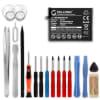 Batterie pour téléphone portableHuawei Mate 9 / 9 Pro - HB396689ECW, 4000mAh interne neuve + Set de micro vissage, kit de remplacement / rechange
