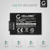 Batterie pour appareil photo Panasonic Lumix DMC-FZ72 DMC-FZ70, DMC-FZ100 DMC-FZ150, DMC-FZ45 DMC-FZ40 DMC-FZ47 DMC-FZ48, DMC-FZ62 DMC-FZ60 - DMW-BMB9E 800mAh Batterie Remplacement