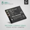 Batterie pour appareil photo Sony Cyber-shot DSC-WX80 DSC-QX10 DSC-QX100 DSC-TX30 DSC-W830 - NP-BN1 580mAh NP-BN1 Batterie Remplacement